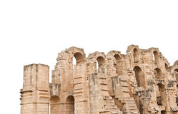Detail of the roman amphitheater Royalty Free Stock Photography