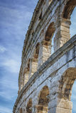 The detail of Roman Arena Royalty Free Stock Images