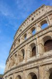 Detail from the Roman Colosseum amphiteater in Rome,. Detail from the Roman Colosseum amphitheater in Rome, Italy Stock Photos