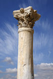 Detail of a roman column Stock Photos