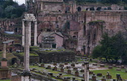 Detail of the Roman Forum in Rome, Italy royalty free stock photography