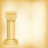 Detail roman kolom Royalty-vrije Stock Foto's