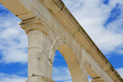 Detail of a Roman monument Royalty Free Stock Images