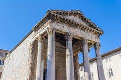 Roman temple Royalty Free Stock Photos