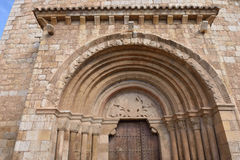 Detail of Romanesque Royalty Free Stock Photos