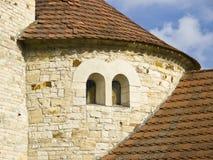 Detail of romanic rotunda Royalty Free Stock Photos