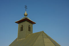 Detail of roof of chapel Stock Photos