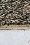 Detail of roof clay tiles Stock Image