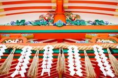 Detail roof Fushimi Inari, Kyoto Royalty Free Stock Photos