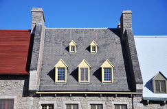 Roof of Quebec House, Quebec City,Canada Stock Photography