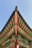 Detail Of Roof At Korean Palace Royalty Free Stock Photo