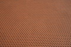 Full screen with orange roof tiles royalty free stock photography