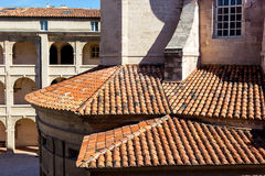 Detail of roof at Vielle Charite, Marseilles Royalty Free Stock Photos