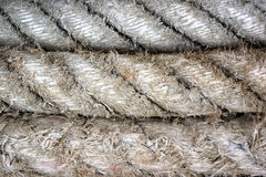 Detail rope ship Background Stock Photography