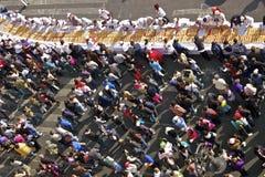 Detail of Rosca de Reyes, Mexico City 2013 Stock Photo