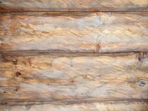 Detail of rough cut horizontal wooden planks Royalty Free Stock Image