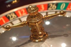 Detail of roulette royalty free stock photo