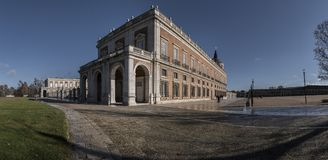 Detail of the Royal Palace of Aranjuez. Madrid, Spain Royalty Free Stock Photography