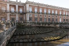 Detail of the Royal Palace of Aranjuez. Madrid, Spain Stock Photos