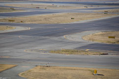 Detail of a runway Stock Images