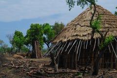 Benishangul Gumuz, Ethiopia: Rural village stock images