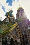 Detail of Russia Orthodox Church Spas na Krovi, St. Petersburg Stock Photography
