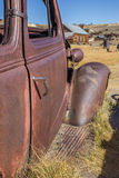 Detail of a rusty car in Bodie State Park Royalty Free Stock Photography
