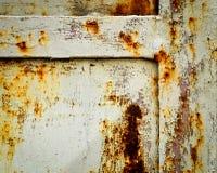 Detail rusty iron gates Stock Photo