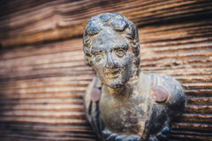 Detail of a rusty old door handle Stock Photography