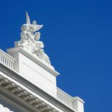 Detail of Sacramento capitol Stock Photos