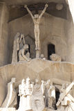 The Detail of Sagrada Familia Royalty Free Stock Images