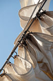 Detail of a Sail Stock Images