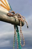 Detail sail boat Royalty Free Stock Photo
