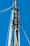 Detail of sail mast Royalty Free Stock Images