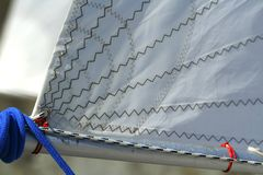 Detail of sail / rigging Stock Photos