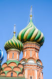 Detail of Saint Basils in Moscow Royalty Free Stock Photos