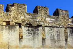 Detail of the Saint George Castle Royalty Free Stock Images
