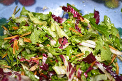 Detail of salad Royalty Free Stock Photography