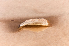 Detail of salt basins in saline de Janubio Royalty Free Stock Photos
