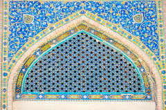 Detail at Samarkand Registan, Uzbekistan Royalty Free Stock Image