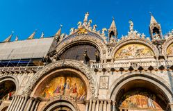 San Marco Front Facade Royalty Free Stock Photography