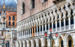 Detail of San Marco square in hdr Royalty Free Stock Images