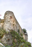 detail of san terenzo castle Stock Photography