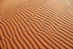 Detail of sand dune Royalty Free Stock Photo