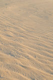 Detail of sand. Detail of the sand in the dunes of Corralejo (Fuerteventura, Canary Islands Stock Images