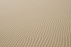 Detail of sand dunes in Myall Lakes. In Australia Stock Photo