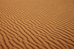 Detail of sand in waves. With light and shadow, desert landscape of Namib at Sossusvlei, Namib-Naukluft National Park, Namibia, Africa royalty free stock image