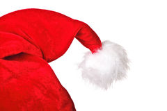 Detail of santa hat Stock Photography