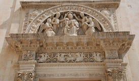 Detail on Santa Maria Degli Angeli Stock Images