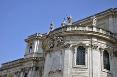 Detail of Santa Maria Maggiore Stock Photo